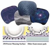3M Precise Mousing Surface MS201 Blue
