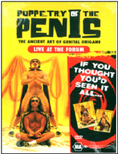 Puppetry Of The Penis - Live At The Forum on DVD