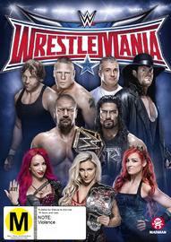 WWE: Wrestlemania 32 on DVD