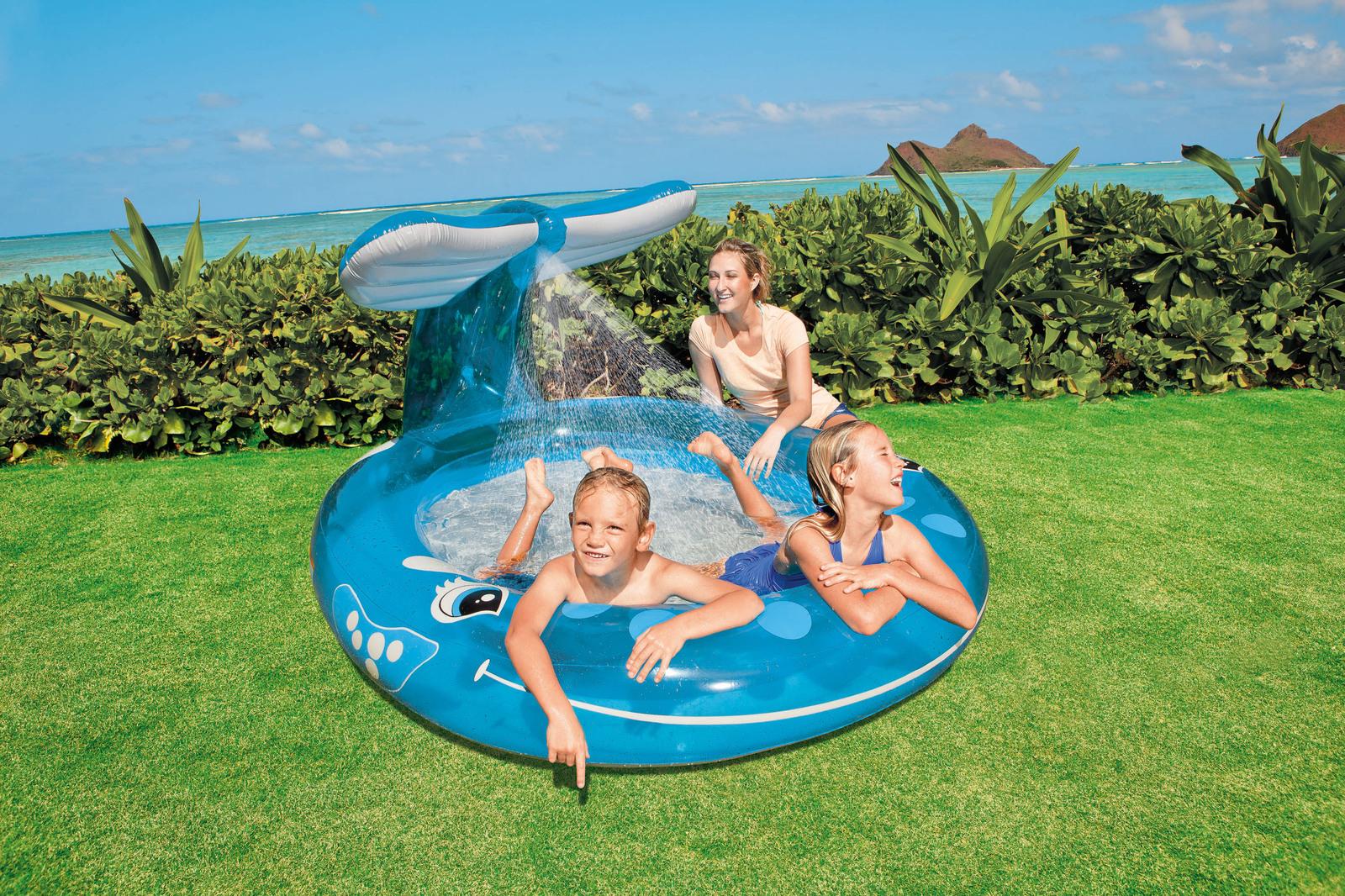 Intex Whale Spray Pool Toy At Mighty Ape Australia