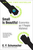 Small Is Beautiful: Economics as If People Mattered by E.F. Schumacher