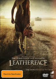 Leatherface on DVD
