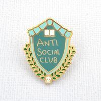Jubly-Umph Anti Social Club Lapel Pin