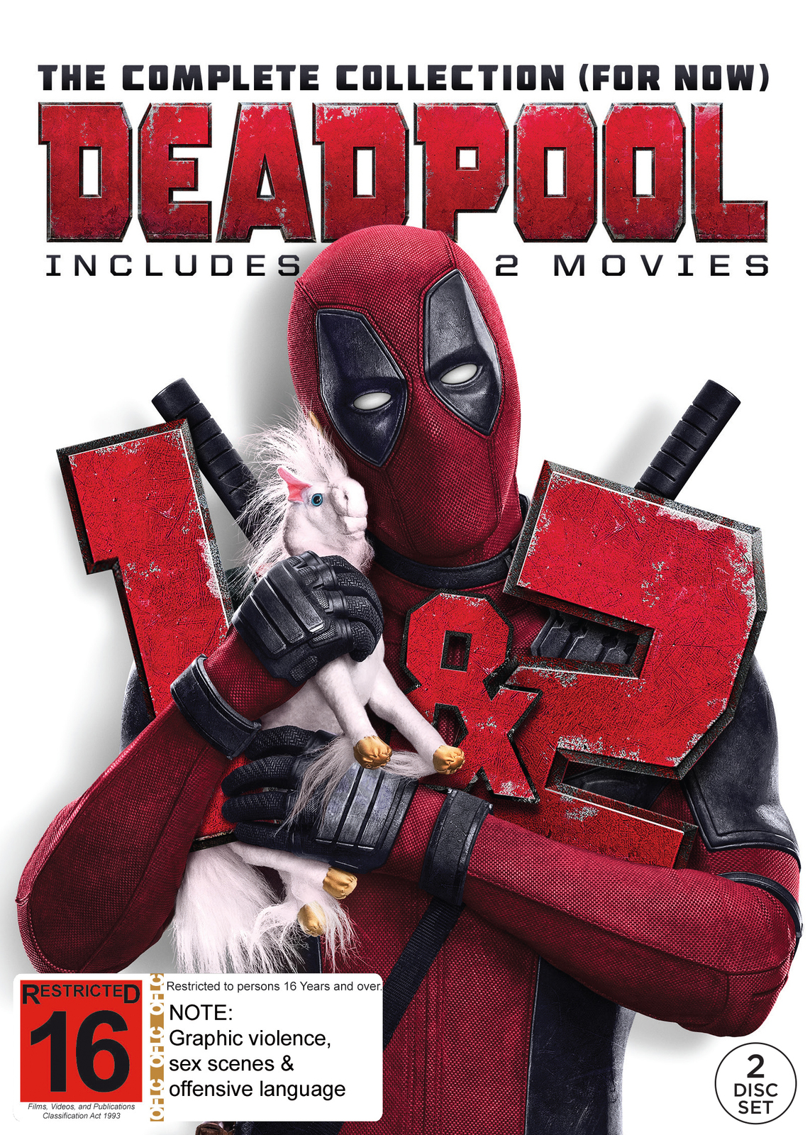 Deadpool Double Pack on Blu-ray image