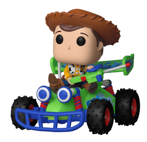Toy Story - Woody & RC Pop! Ride Vinyl Figure