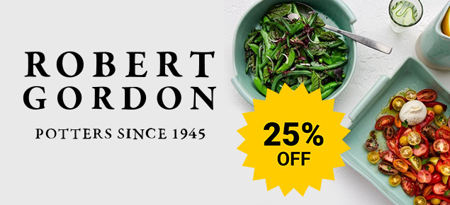 25% off Robert Gordon!
