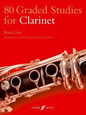 80 Graded Studies for Clarinet Book One by John Davies