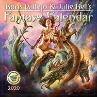 2020 Boris Vallejo & Julie Bells Fantasy Wall Calendar by Workman Publishing