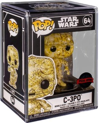 Star Wars - C-3PO (Futura) Pop! Vinyl Figure + Protector image