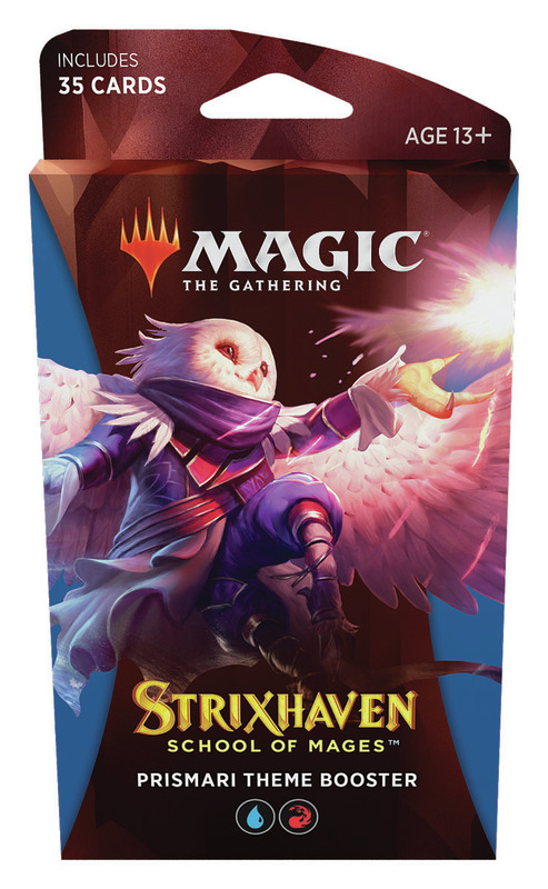 Magic the Gathering: School of Mages Theme Booster- Prismari