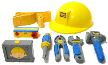 Bob the Builder: Bob's Talking Toolbelt with Helmet
