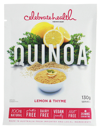 Celebrate Health - Lemon & Thyme Quinoa (130g)