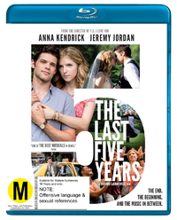 The Last 5 Years on Blu-ray