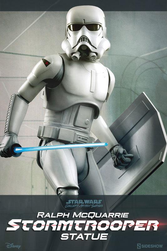 "Star Wars: 18"" Ralph McQuarrie Stormtrooper Statue image"