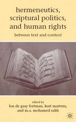 Hermeneutics, Scriptural Politics, and Human Rights image
