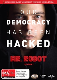 Mr Robot - Season 1 on DVD image