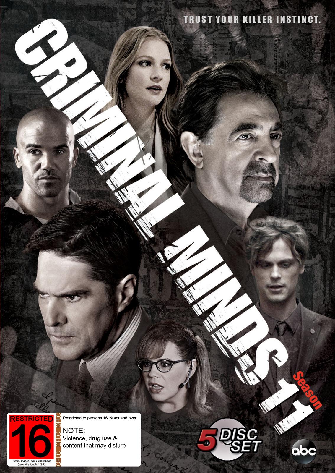 Criminal Minds: Season 11 (5 Disc Set) on DVD image