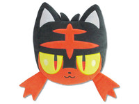 Pokemon: Mochi-Fuwa Cushion (Litten Face)