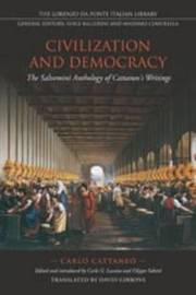 Civilization and Democracy by Carlo Cattaneo image