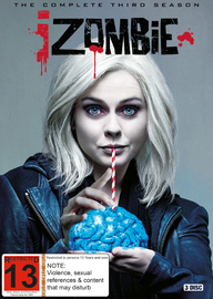 iZombie - The Complete Third Season on DVD