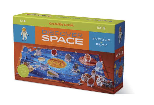 Crocodile Creek: Discover Puzzle - Space (100pc)