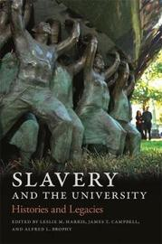 Slavery and the University