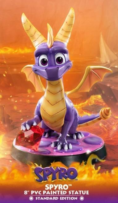 "Spyro the Dragon - 8"" PVC Statue"