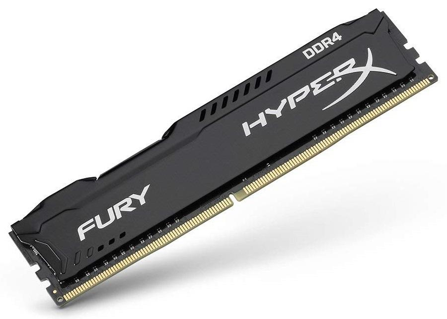 2x8GB Kingston HyperX Fury 2666MHz DDR4 Gaming RAM image