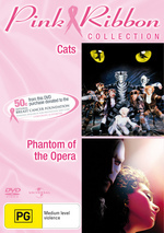 Cats / Phantom Of The Opera (2004) - Pink Ribbon Collection (2 Disc Set) on DVD