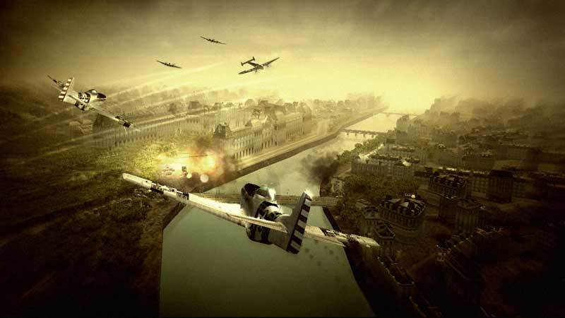 Blazing Angels: Squadrons of WWII for Xbox 360 image