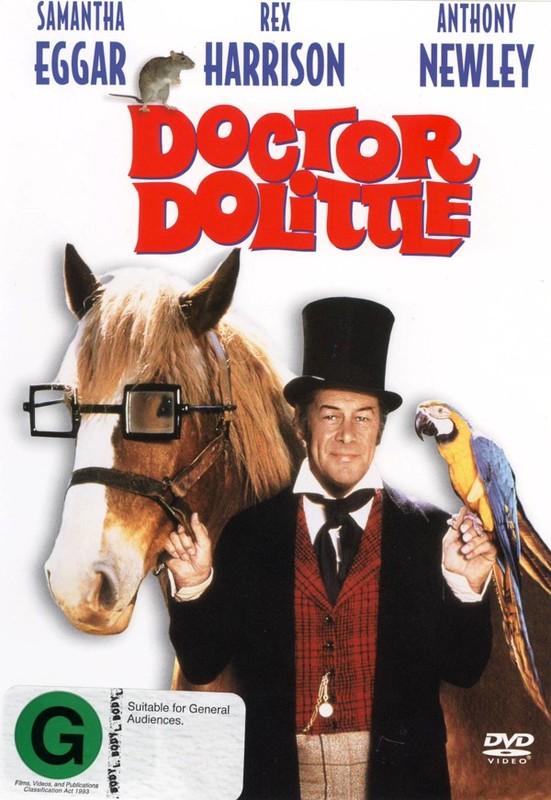 Doctor Dolittle on DVD