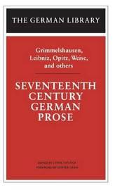 Seventeenth Century German Prose image