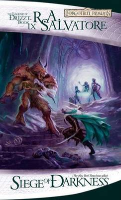 Forgotten Realms : Siege of Darkness (Legend of Drizzt #9) by R.A. Salvatore image