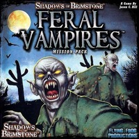 Shadows of Brimstone: Feral Vampires - Mission Pack