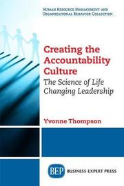 Creating the Accountability Culture by Yvonnne Thompson image