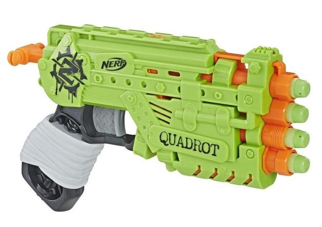 Nerf: Zombiestrike - Quadrot Blaster