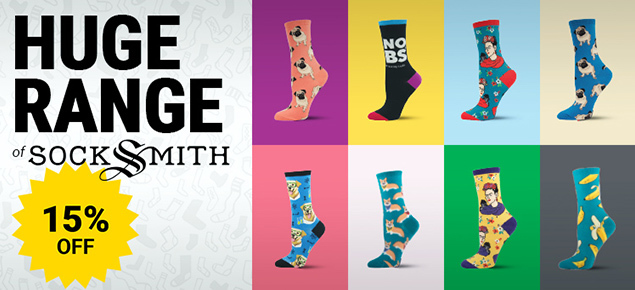 15% off Socksmith