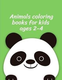 Animals Coloring Books for Kids ages 2-4 by Harry Blackice