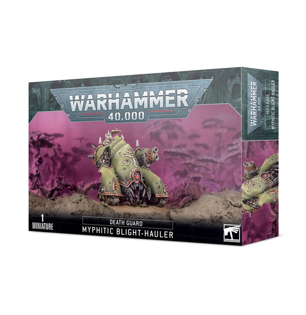Warhammer 40,000: Easy to Build - Death Guard Myphitic Blight-hauler
