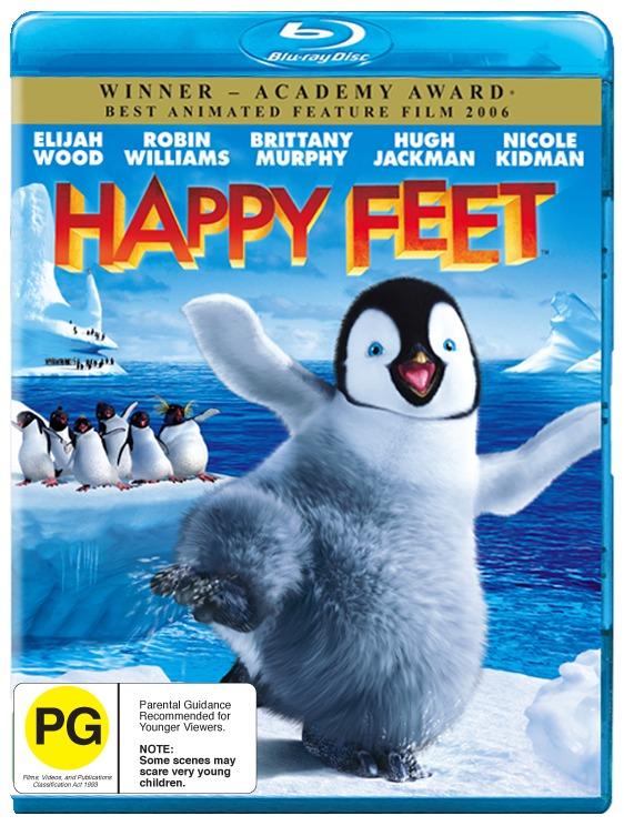 Happy Feet on Blu-ray