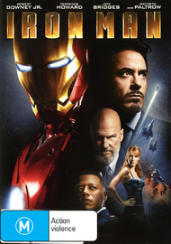Iron Man on DVD