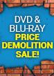 DVD & Blu-ray Price Demolition Sale!
