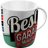 Retro Coffee Mug - Best Garage Pin Up