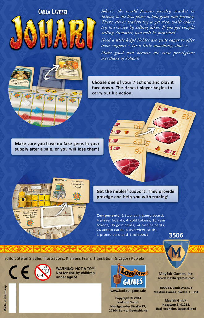 Johari - Board Game image