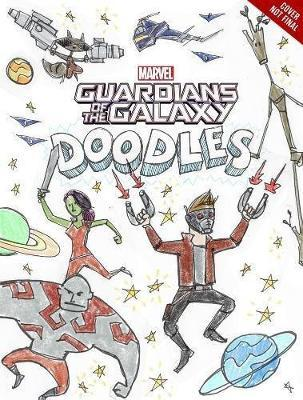 Guardians Of The Galaxy Doodles by Brandon T. Snider