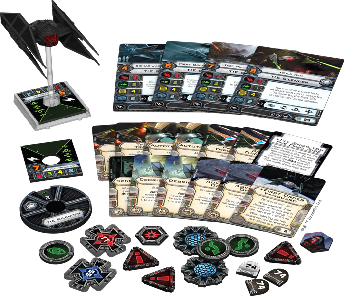 Star Wars X-Wing: TIE Silencer Expansion Pack image