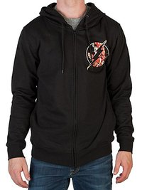 DC Comics: Flash Logo Zip Up Hoodie (Small)