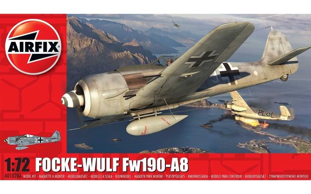 Airfix 1:72 Focke-Wulf Fw190-A8 1:72 Model Kit