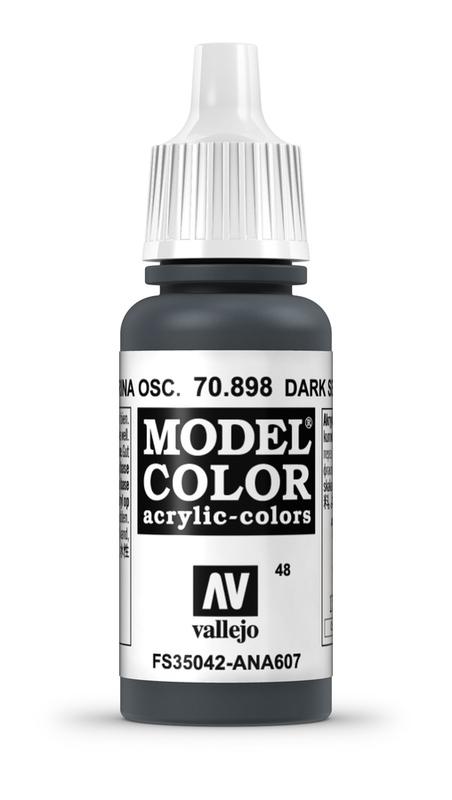 Vallejo Model Colour Dark Sea Blue 17ml