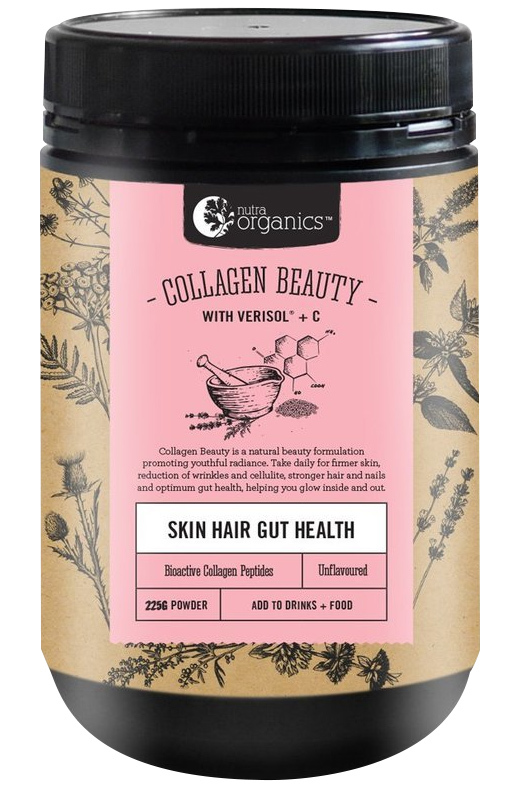 Nutra Organics Collagen Beauty with Verisol+C (225g) image